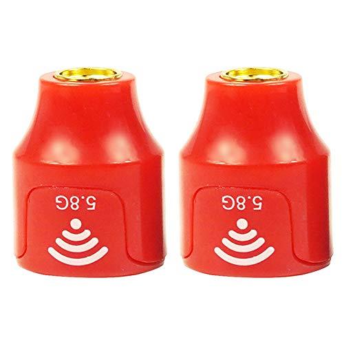 Fayeille 2pcs Lollipop 3 Crossing Machine Antena SMA 2.5dBi Super Mini 5.5-6.0G RHCP