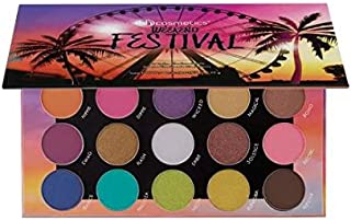 BH Cosmetics 20 Color Eyeshadow Palette, Weekend Festival