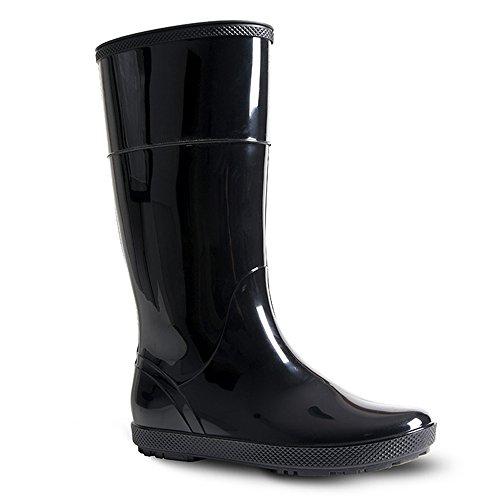 Bottes de pluie en caoutchouc HAWAI LADY par DEMAR - Noir - noir, 39 EU