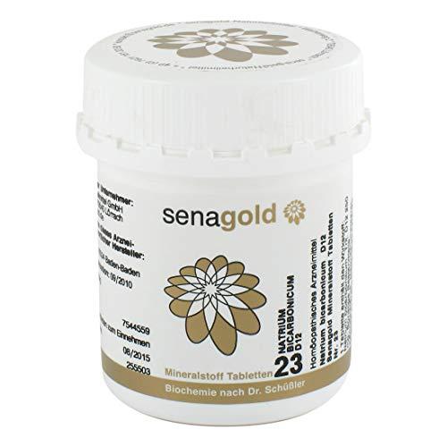 Schüßler Salz Nr.23 - Natrium bicarb. D12-400 Tabletten, glutenfrei