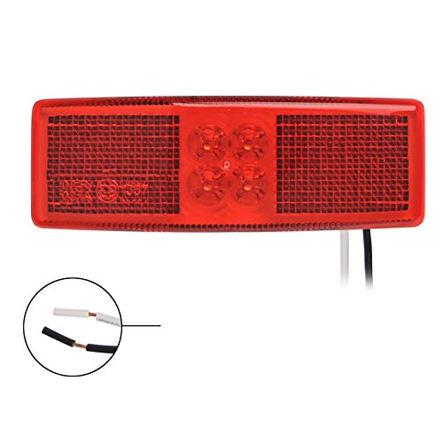 PRO PLUS Lampe Position ajustable Lampe Camion Rouge 110 x 40 mm 4LED Contour Lampe 12/24 V