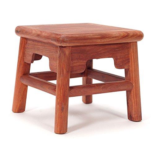 ZWL Changer de chaise Tabouret Bois Tabouret à main chinois Table basse Tabouret Laver le tabouret Tabouret petit Tabouret pour enfants Tabouret de pique-nique mode (Couleur : A)