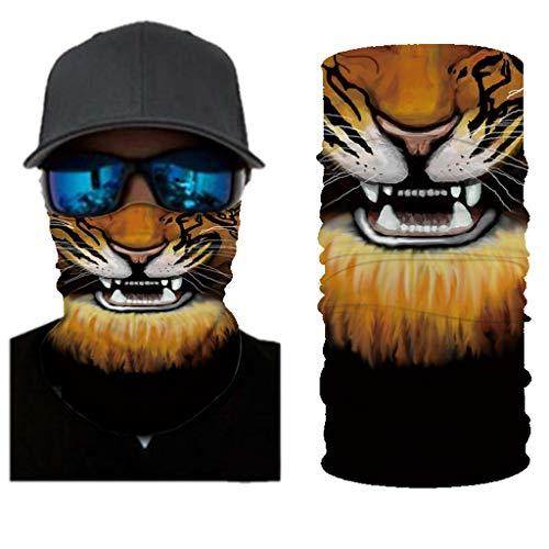 Halloween Dekorationen Waschbare Abdeckung Mundpolster, Unisex 3D Funny Print Wiederverwendbare staubdichte atmungsaktive Gesichtsschal Outdoor-Fahrradmaske(D,1PC)