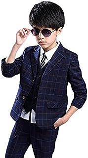 (マリア)MARIAH フォーマル スーツ 男の子 子供タキシード キッズ ベスト set 結婚式 発表会 七五三 3点セット