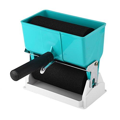 Applicatore di colla a rullo manuale 180mL / 320mL Portatile rullo adesivo colla spargitore di rivestimento Trough Roller Gluer Strumento di lavorazione del legno per falegname falegnameria (02)