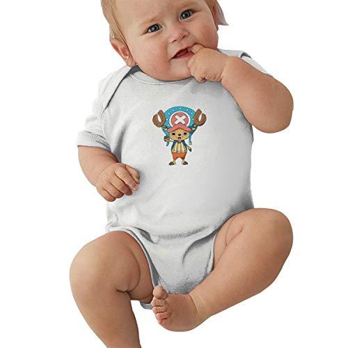GanCheng ONE Piece Comic Tony Tony Chopper Baby Boy T Shirt Comfortable Onesies White