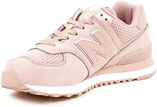 New Balance Damen 574v2 Sneaker, Pink (Au Lait/Champagne Metallic Nbm), 36.5 EU