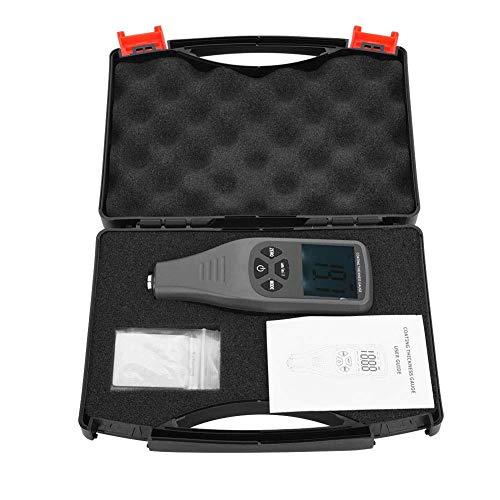 Allamp GM240 LCD Digital de Pintura de Espesor de Revestimiento de Metal probador del calibrador de Prueba automática de medición 0~1300um Medida de Espesor
