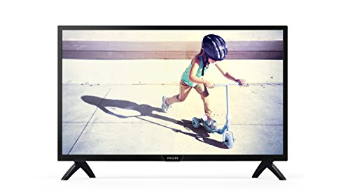 Philips 32PHT4012/05 32-Inch HD Ready LED TV with Freeview HD - Black (2017 Model)