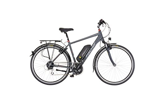 fischer Proline Eth 1606 19173 - Bicicleta eléctrica para Hombre, 24 Marchas, 28'