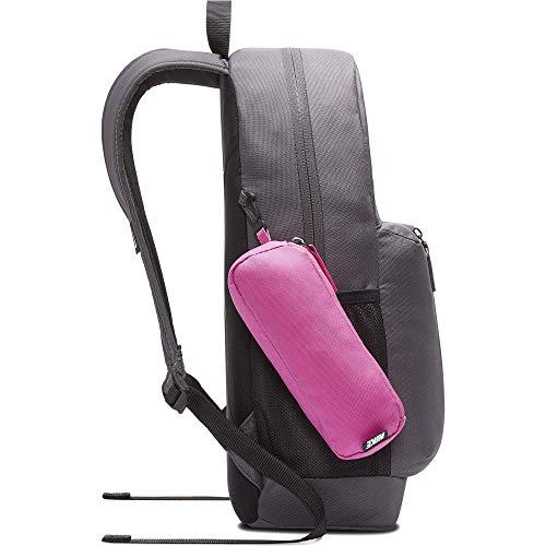 Nike Kinder Elemental Rucksack, Unisex-Kinder, Rucksack, Elemental Backpack, Grau/Fuchsia, Einheitsgröße