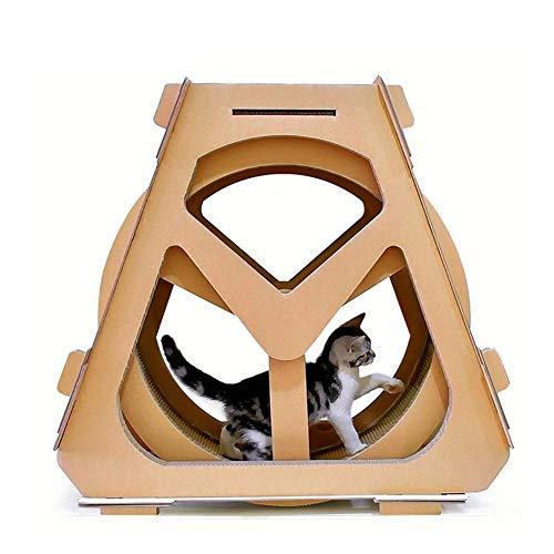MC.PIG Cato con Rascador Cat Scratch Board, Cat Climbing
