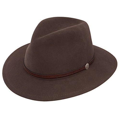Stetson TWCMWL-8824 Cromwell Hat, Mink, X-Large