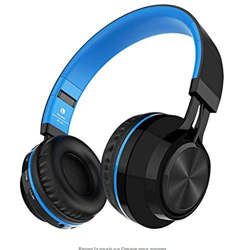 HUANGDA Sound Intone BT-06 Swift 4.0 Auriculares Auriculares inalámbricos Auriculares inalámbricos estéreo con HiFi en el micrófono y control de volumen Viene con cable de audio Compatible con la mayo