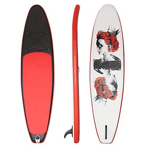 Zjcpow Tabla De Paddle Surf Sup Tabla De Surf Inflable De 11 Pies / 3,35 M, Tabla De Surf, Tabla De Remo, Tabla De Surf, Tabla De Surf, Tabla De Surf Portátil Todos Los Niveles De Habilidad