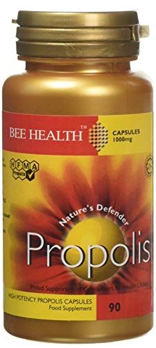 Bee Health 1000 mg Propolis High Potency 90 Capsules, 80 g