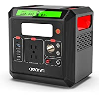 Awanfi 518.4 Wh Portable Power Station Solar Generator with 110V 500W Pure Sine Wave AC Outlets, USB-C PD Output, QC 3.0 and LED Flashlight, Backup Lithium Battery