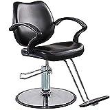 Funnylife Round Base Salon Hydraulic Pump Styling Barber Chair