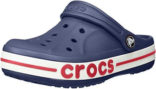 Crocs Unisex Kinder Boys & Girls Bayaband Clog Holzschuh, Navy, 34 EU
