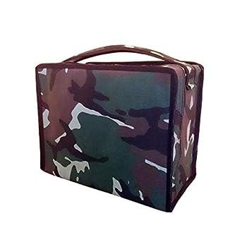 Complementos Para Aves Accessoires pour Oiseaux - Housse pour Cages de réclamation de Silvestrisme en Tissu Camouflage/Militaire. Dimensions pour Cages C1 ou C2 1 bâton ou 2 bâtons.