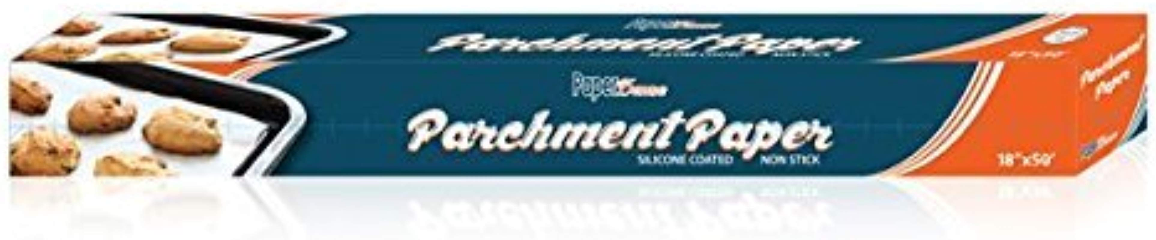 Parchment Paper Non Stick Roll 18 X 50 Feet 75 Square Foot Premium Baking Paper