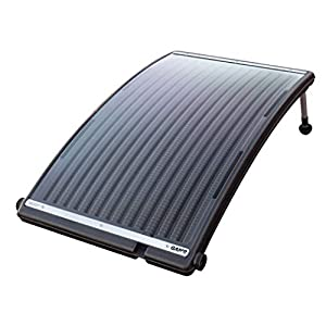 SOLAR POOL HEATER: The GAME SolarPRO Curve Solar Pool Heater has been designed for above-ground and most inground pools. It increases the pool temperature by 5 degrees in 4 days (for an 8,000-gallon pool). DURABLE CONSTRUCTION: We've designed this ab...