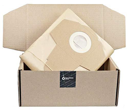 5 Bolsas de alto rendimiento SpareHome® compatible con aspiradores Dexter 20L