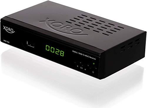 Xoro HRM 7620 set-top box TV Cavo, Terrestre Full HD Nero