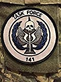 Call of Duty Black Ops COD Task Force 141 Iron/Sew On