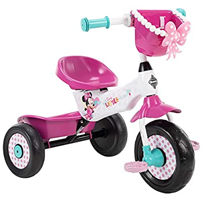 Huffy Minnie Mouse Tricycle for Toddlers, Pink from Huffy