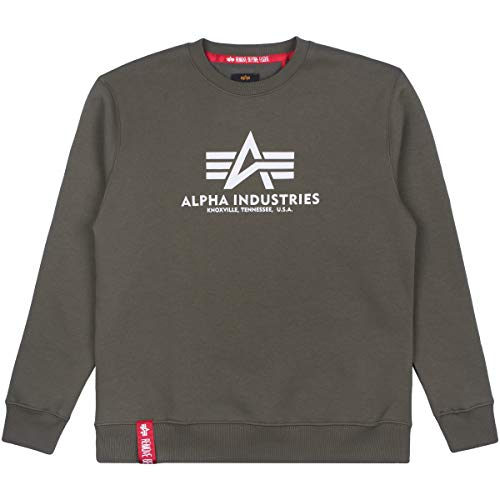 Alpha Industries Basic Sweater Dark Olive