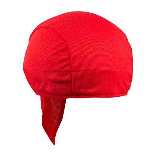 Headsweats Shorty Super Duty Bandana Piraten-Kopftuch, red, One Size, 8807 803
