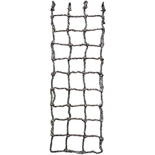 Aoneky Kinder Kletternetz 60x200cm/100x150cm/100x200cm - Krabbelnetzwand Schutznetz für Freiensport-Entwicklungstraining, Garten,Outdoor Indoordekoration, 1 x 2m