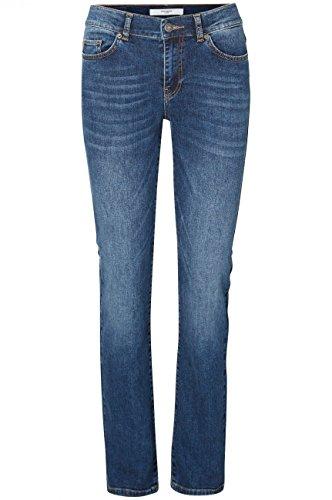 VERO MODA Damen VMFIFTEEN NW STRAIGHT JEANS BA024 NOOS Jeanshose, Blau (Medium Blue Denim), W27/L32 (Herstellergröße: 27)