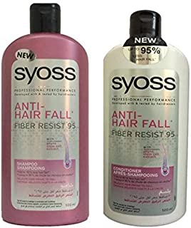 Syoss Ant Hair Fall Shampoo + Conditioner, 500 ml