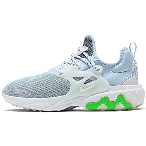 Nike Women's Presto React Shoes (8, Blue/White/Green)