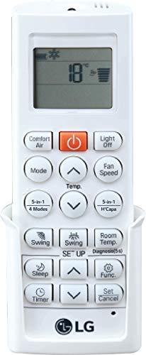 LG 1.5 Ton 5 Star Wi-Fi Inverter Split AC remote