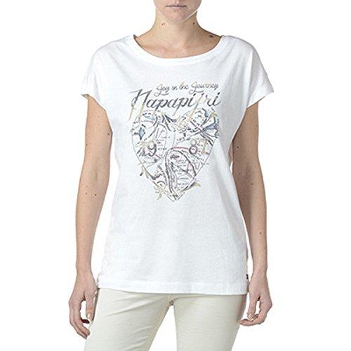 NAPAPIJRI SAMBADA T-Shirt, Multicolore (Multicolor (Fantasy L40), S Donna