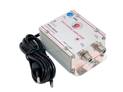 Amplificador Señal Antena TV Digital Terrestre Via Cable 2salidas + 20dB