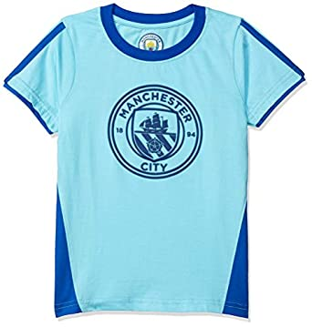 Manchester City FC by Game Begins Boys Fashion T-shirt