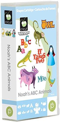 Cricut Noah's ABC Animals Cartridge
