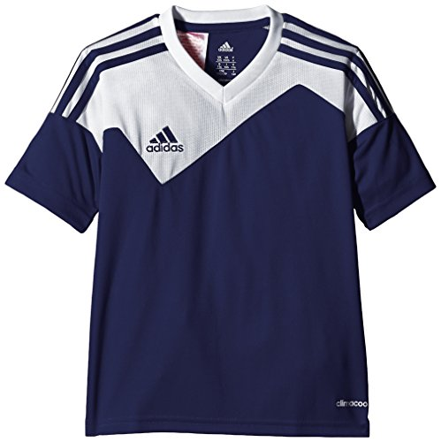 adidas Unisex - Kinder Trikot Toque 13 1/4 Arm, new navy/white, 140, Z20267