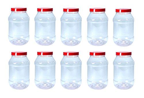 Ensemble de 10 bocals de rangement d'atelier avec capsules à vis par Britten & James