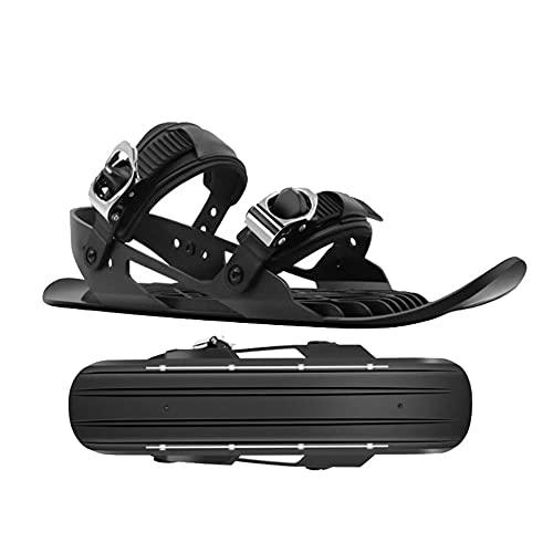 Ttiy Invierno raquetas de nieve al aire libre zapatillas de nieve adultos zapatos de nieve moda esquí tabla deportes suministros para nieve deporte 1 par