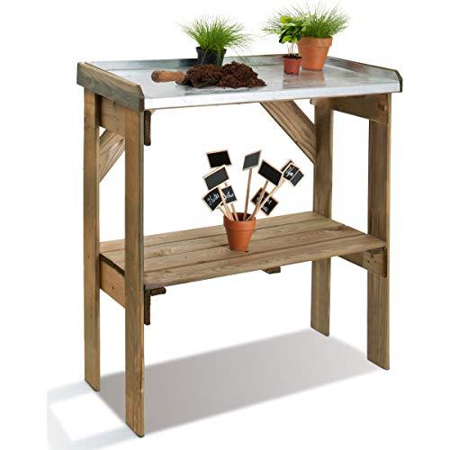 Table à rempoter en bois Revolution Couleur Bois Matière Pin