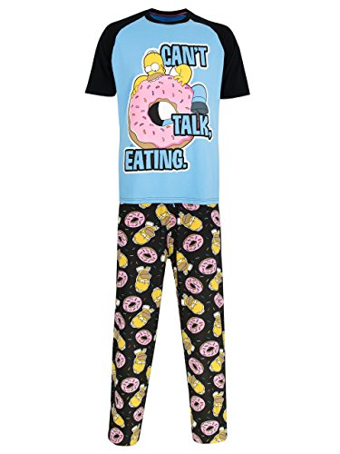 The Simpsons Herren Homer Simpson Schlafanzug X-Large
