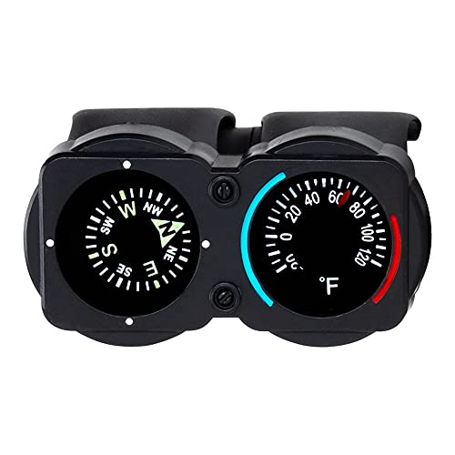Sun Company CyclGage Bike Thermometer and Compass   Bicycle Handlebar Accessory