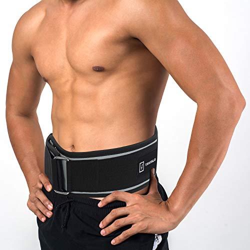 TAVIALO Cintura Fitness Palestra Sollevamento Pesi Uomo Donna, M(88-100cm), Cintura per Bodybuilding Powerlifting Crossfit Squat Allenamento Protezione Lombare