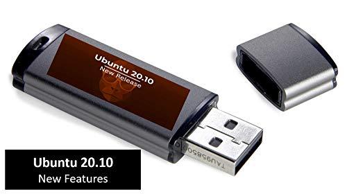 Linux Ubuntu 20.10. LTS USB-Stick Linux Betriebssystem NEW