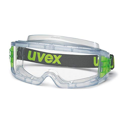 Uvex 9301714 Ultravision Vollsichtbrille - Supravision Excellence - Transparent/Grün-Transparent